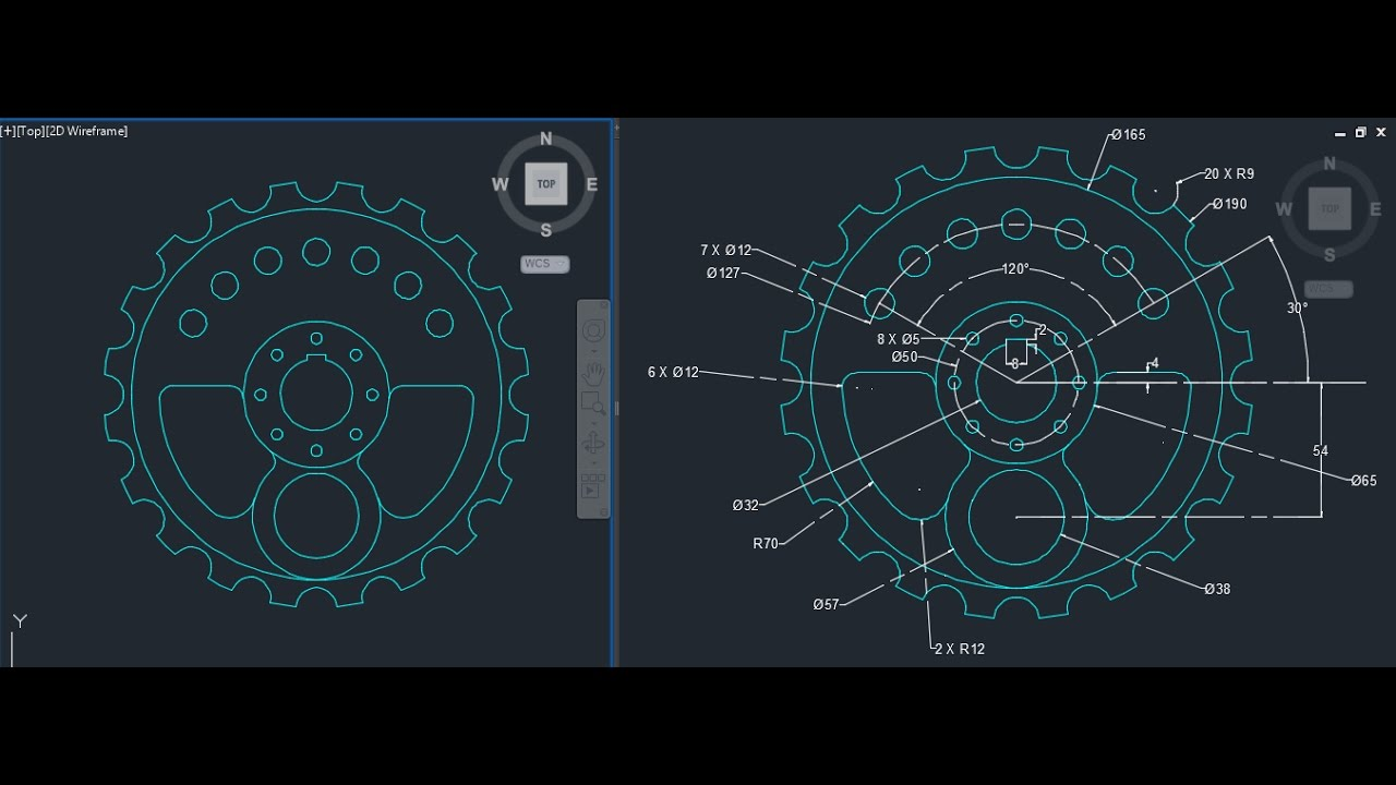 Autocad 2d Design On Cad Software For Beginners 2 What