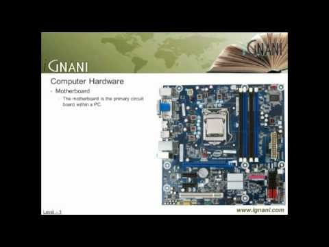 Computer Internals – Hardware & Software – V2: What is a Computer made up off?