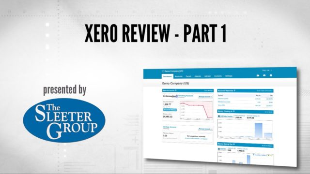 Xero Accounting Software Review / Tutorial – Part 1