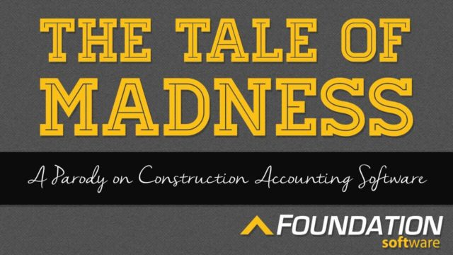 Great Video Parody on Construction Accounting Software