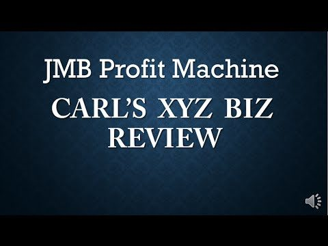 JMB Profit Machine Review – Watch This! JMB Profit Machine Trading Software