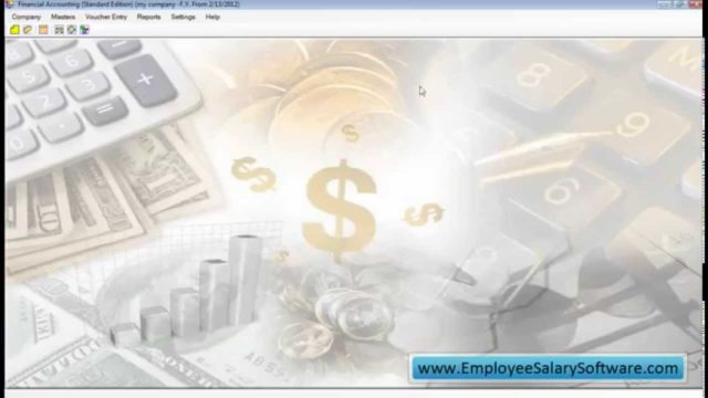 financial accounting software standard