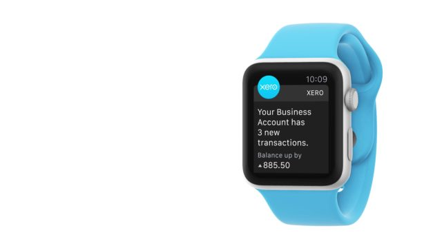 Bookkeeping on Apple Watch   Xero Accounting Software