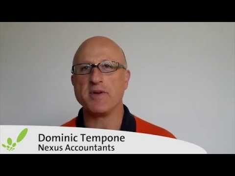Dominic Tempone Testimonial for Cashflow Manager Small Business Accounting Software