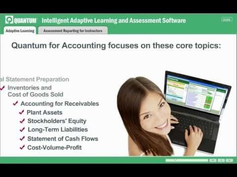 Quantum Adaptive Learning and Assessment Software for Accounting