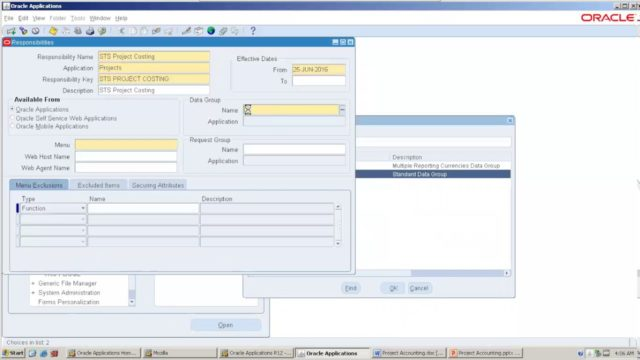 Oracle Project Accounting part 1 (on Oracle EBS R12)
