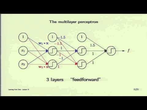 Lecture 10 – Neural Networks