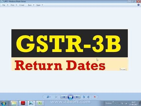 GSTR-3B Filing By Accounting Software +91 920161132