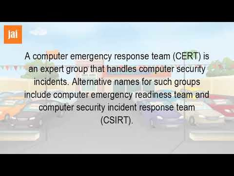 What Is The Purpose Of A Computer Emergency Response Team?