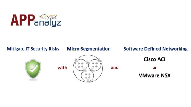 Micro-segmentation and Software defined networking