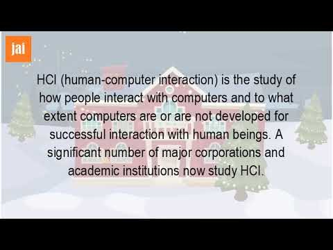What Is The Definition Of HCI?