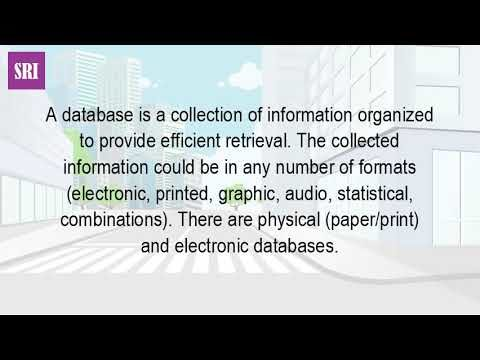 What Is The Database?