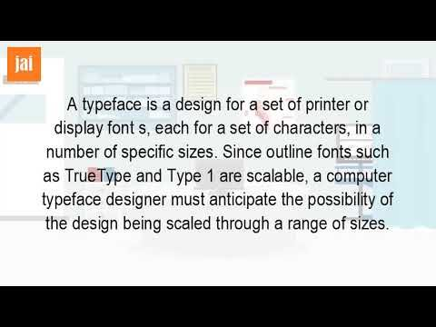 What Is Typeface In Computer?