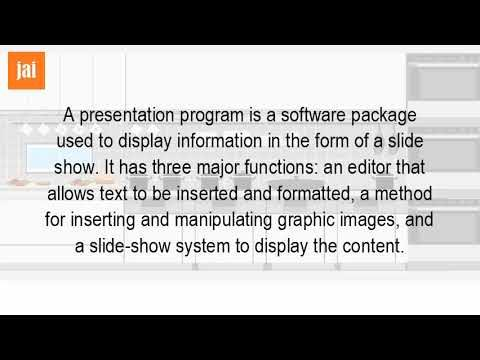 What Is A Multimedia Presentation Software?