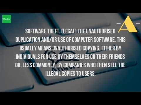 What Is The Definition Of Software Theft?