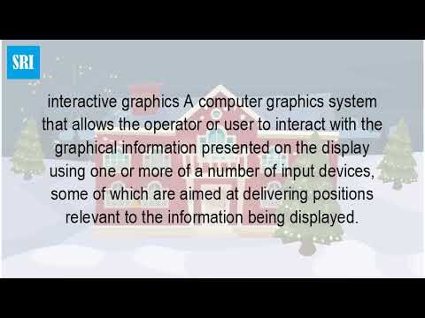 What Do You Mean By Interactive Computer Graphics?