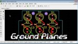 Pad2Pad Free CAD Software Tutorial: Ground Planes