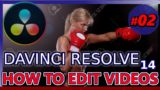 HOW TO USE DAVINCI RESOLVE 14 (Tutorial 02: FREE video editing for Youtube complete beginners)