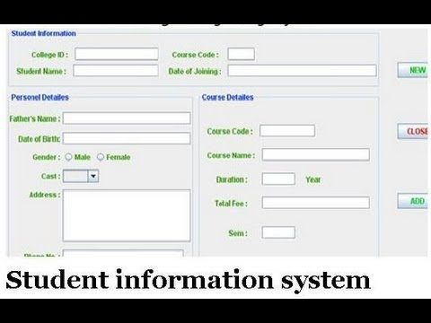 Student Information System Project