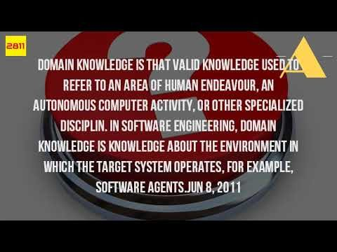 What Is The Meaning Of Domain In Software Industry?