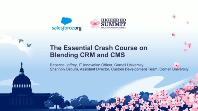 The Essential Crash Course on Blending CRM and CMS