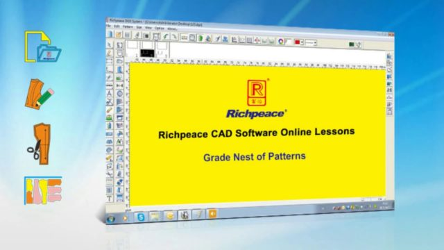 Richpeace CAD Software Online Lessons-Tip of the day-Graded Nest of Patterns