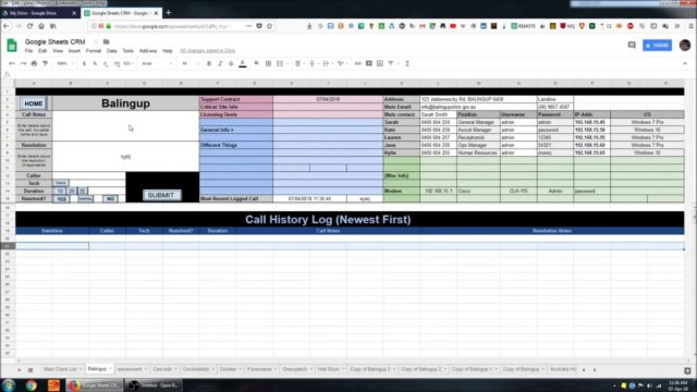 Creating a CRM System in Google Sheets 4   Limitations and Conclusion