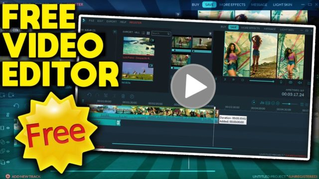 FREE Video Editing Software For WINDOWS 10! (2018)