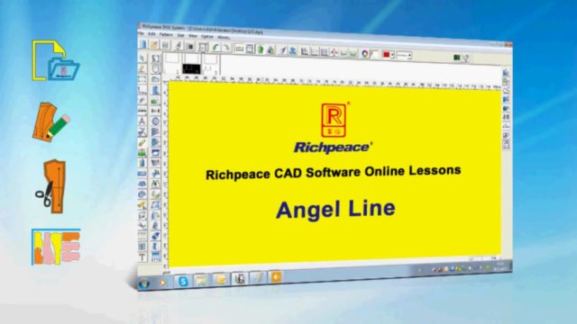 Richpeace CAD Software Online Lessons-Tip of the day-Angle Line