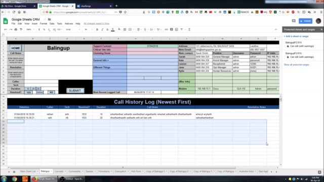 Creating a CRM System in Google Sheets 3   Conditional Formatting, Drawings, and Javascript