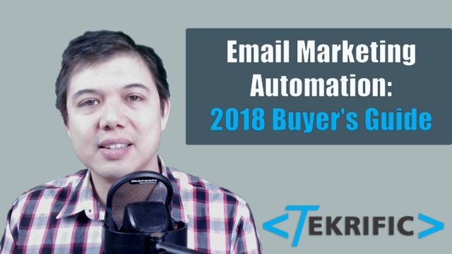 Email Marketing Automation Software – 2018 Buyer's Guide