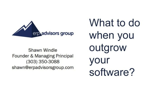 What To Do When You Outgrow Your Accounting Software