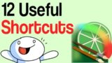 12 Useful Shortcuts for Paint Tools Sai Tutorial