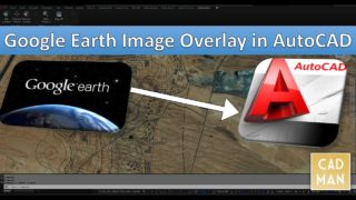 Google Earth Image Overlay in AutoCAD
