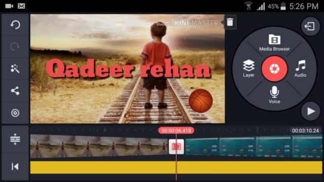 Best Video Editing Software for Android   How to use KINEMASTER Hindi Tutorial HD