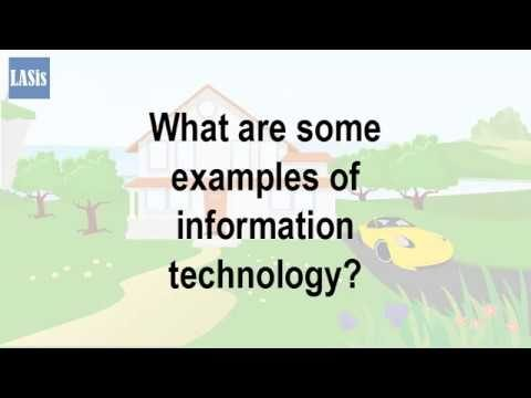 What Are Some Examples Of Information Technology?