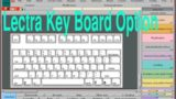 How to use key board by Lectra Modaris | Lectra Modaris Shortcut | Shortcut option