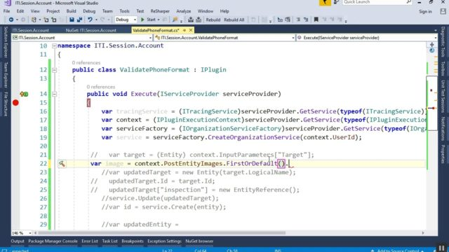 Intro to Dynamics CRM – 23 – Plugin Images