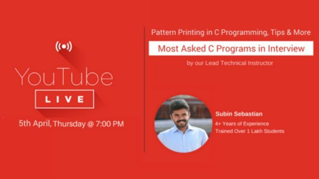 Most Asked C Programs in Interviews – Pattern Printing in C Programming