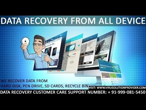 Data Recovery Customer Care Support +91 999 081 5450
