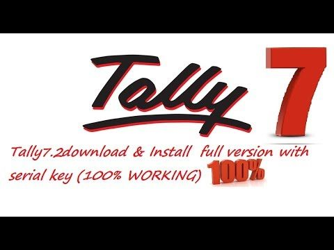 Tally 7.2 download & Install  full version with serial key