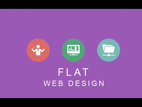 Flat web design – definition, examples and more.