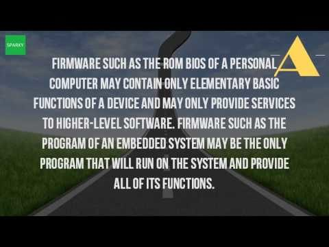 What Is The Firmware Of A Computer?