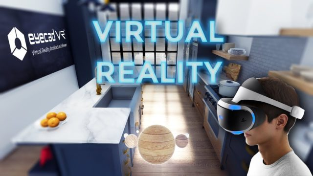 Contemporary Kitchen Virtual Reality | Eyecad VR