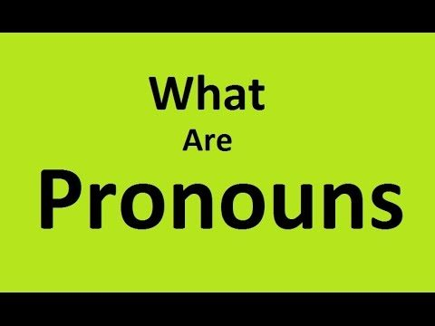 What Are Pronouns? – Types, Definition & Examples