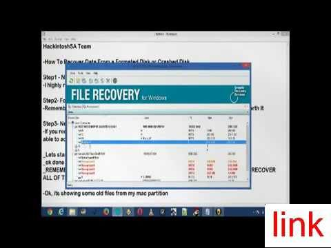 Recover Data Using Seagate File Recovery