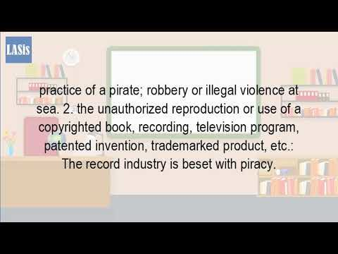 What Is The Definition Of Piracy?