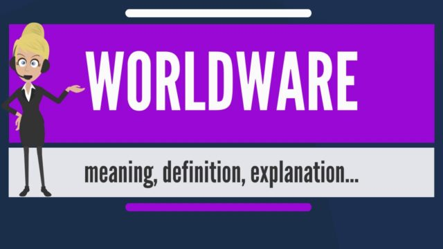 What is WORLDWARE? What does WORLDWARE mean? WORLDWARE meaning, definition & explanation