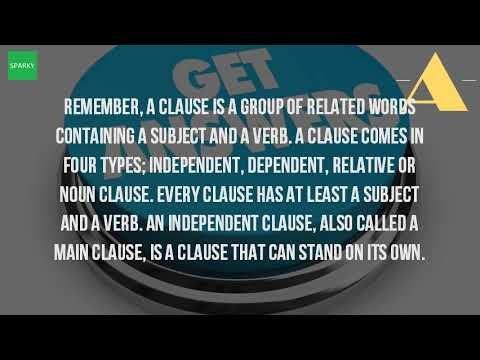 What Is A Clause With Examples?