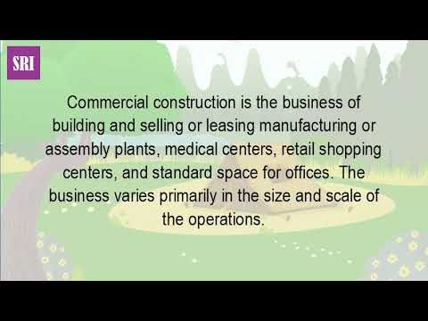 What Is The Definition Of Commercial Construction?